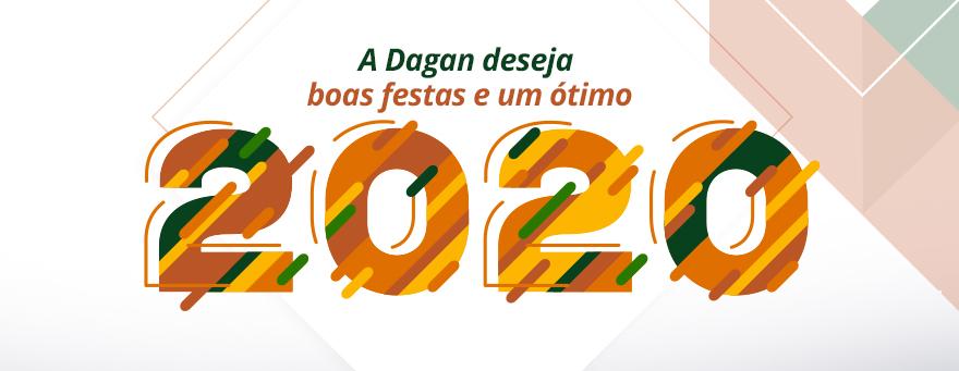 A Dagan deseja boas festas e um ótimo 2020