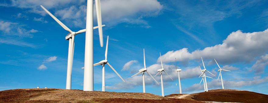 A importância do aço no setor de energia eólica