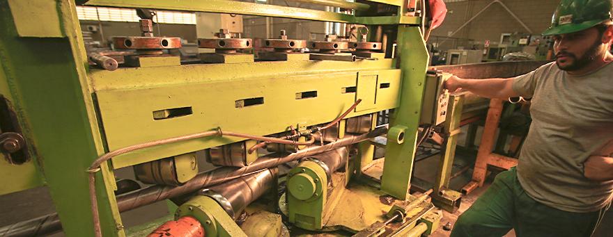 Como se fabrica peças tubulares?